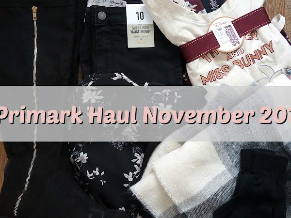 Primark Haul November 2017