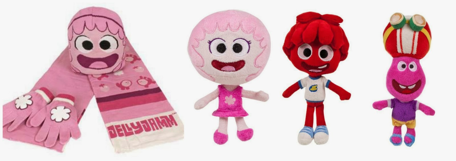 Jelly Jamm prizes - Rita Hat and Scarf Mini Rita Bello Gooomo Plush toys