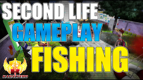Second Life Gameplay ★ Fishing For Linden Dollars