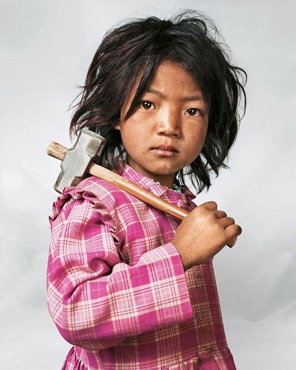 16 Children & Their Bedrooms From Around the World - Indira, 7, Kathmandu, Nepal