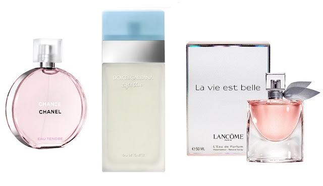 kadınlara özel parfümler