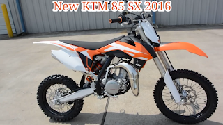 Spesifikasi Dan Harga KTM 85 SX 2016