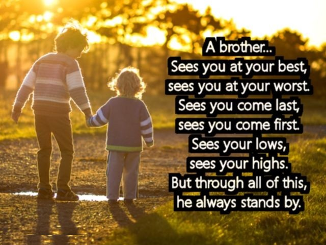 I Love You Messages For Brother ~ Best Quotes and Sayings