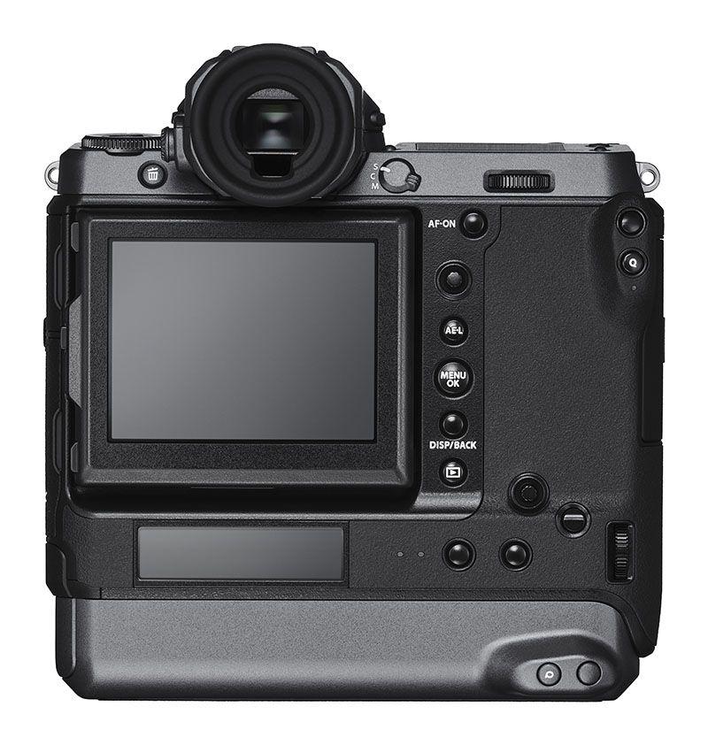 Fujifilm GFX 100, вид сзади