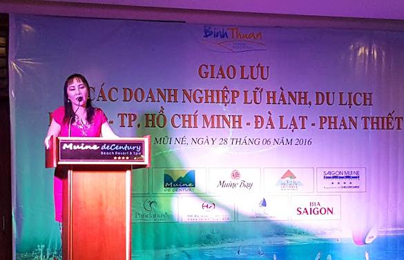 Giao lưu doanh nghiệp ngành lữ hành, du lịch tại Mũi Né 2016