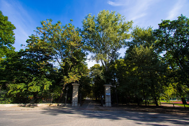 Parco Lazienki-Varsavia