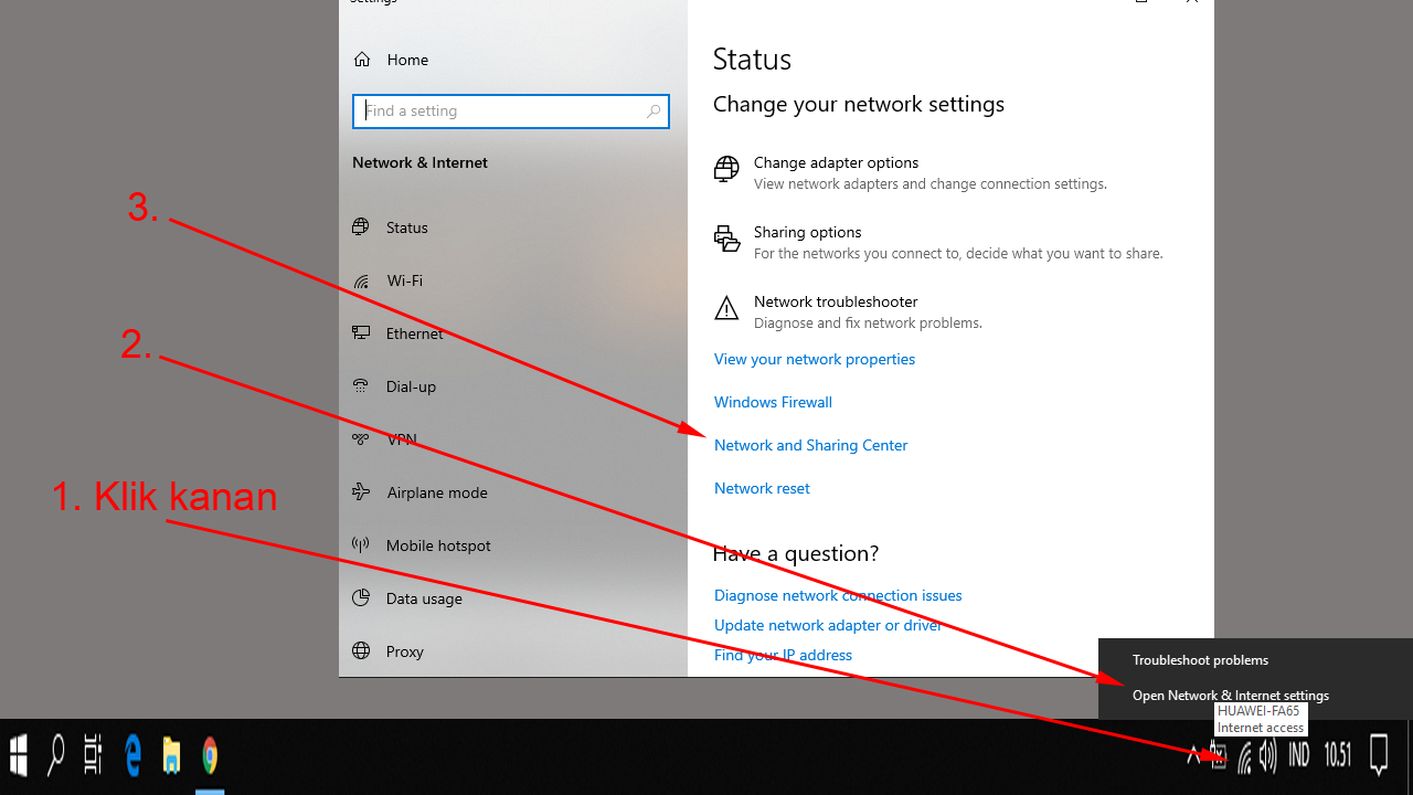 cara-intip-password-wifi-windows-10