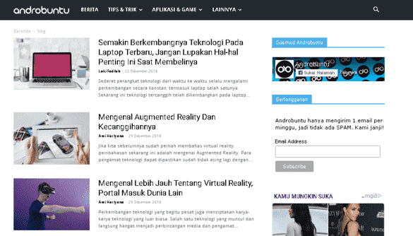 dapatkan info gadget dan internet terbaru dari Androbuntu
