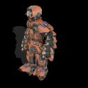 Zorgons, los robots errantes del cosmos ~ Spore Galaxies: The Fallen Soldado%2BZorgon%2Bmodelo%2BX-42%2B2