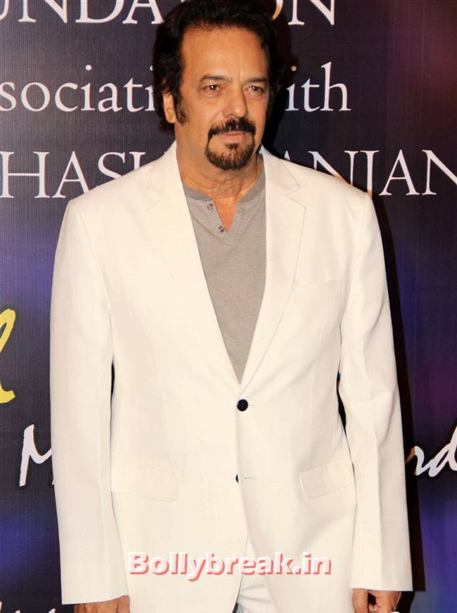 Sanjay Khan, Bollywood Beauties at Yash Chopra Memorial Awards