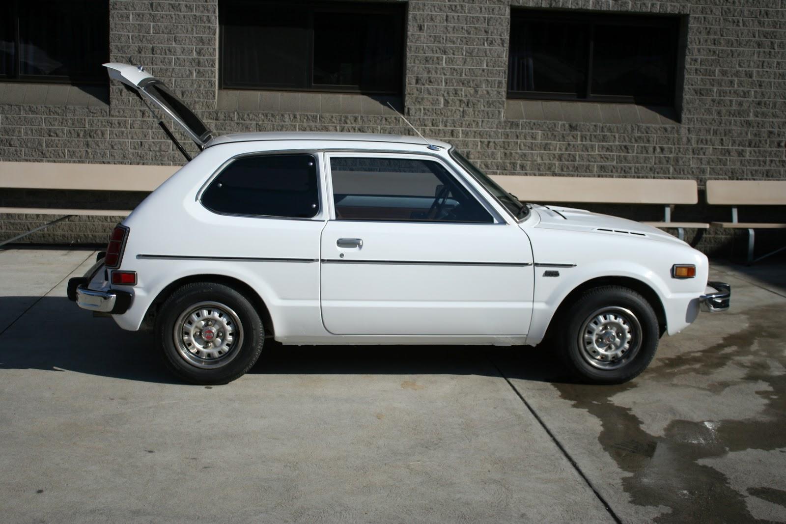 TIETZEDOG: 1977 Honda Civic CVCC