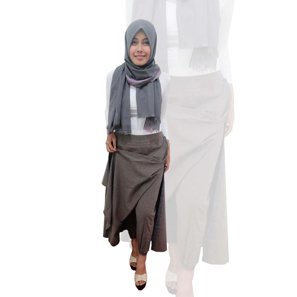 99 Model Rok Celana Wanita Kulot Batik Span Pesta
