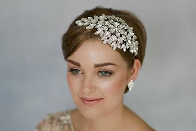 Peinados de novia pelo corto