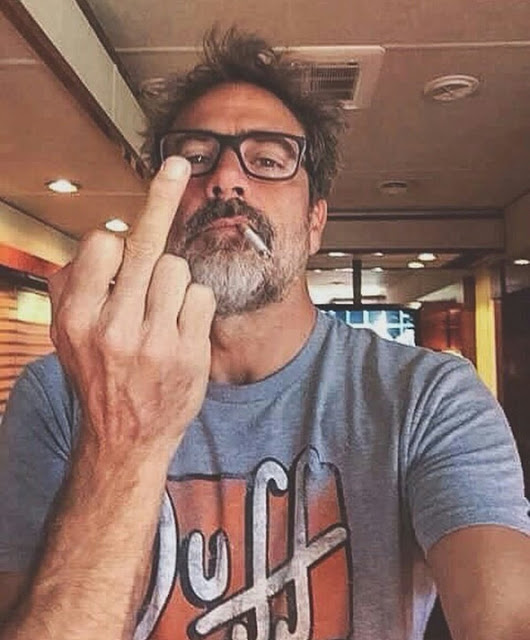 Jeffrey Dean Morgan macizo, 'The Walking Dead'