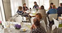Bürgersaal Hohenaspe Landfrauen frühstücken gemeinsam