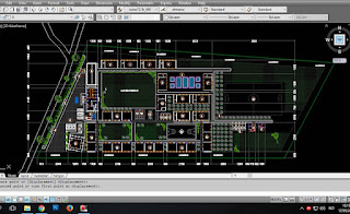 Download Auto Cad Gambar Masterplan , Site Plan , layout sekolah (Dwg File)