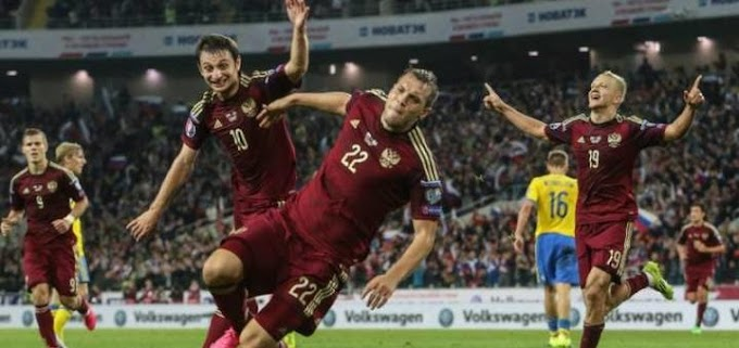 Футбольные победы России