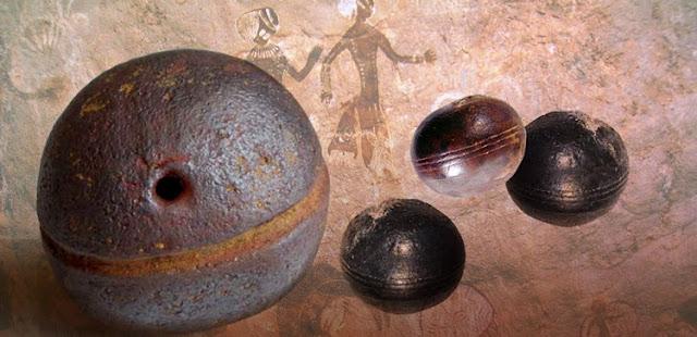 Misteriosas esferas en Africa