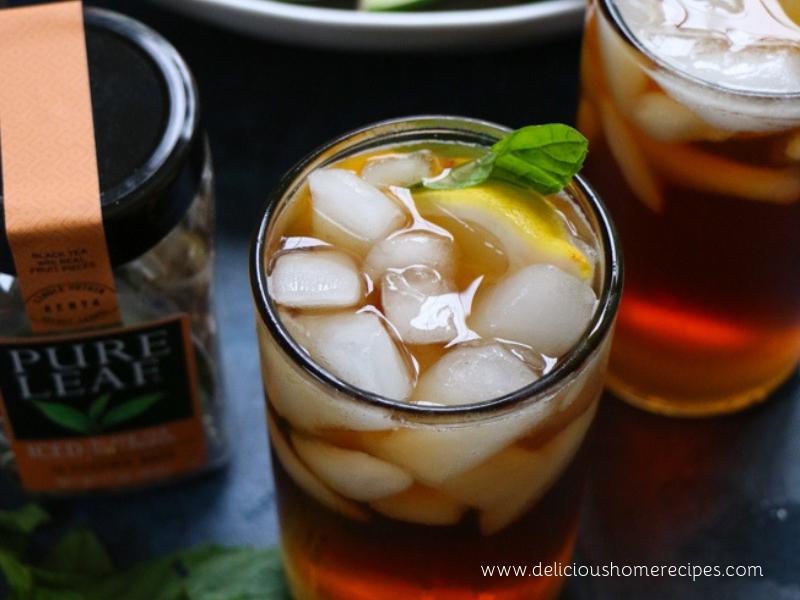 Pure Leaf Iced Black Tea With Peach