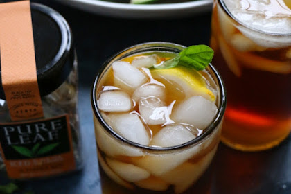 Pure Leaf Iced Black Tea With Peach