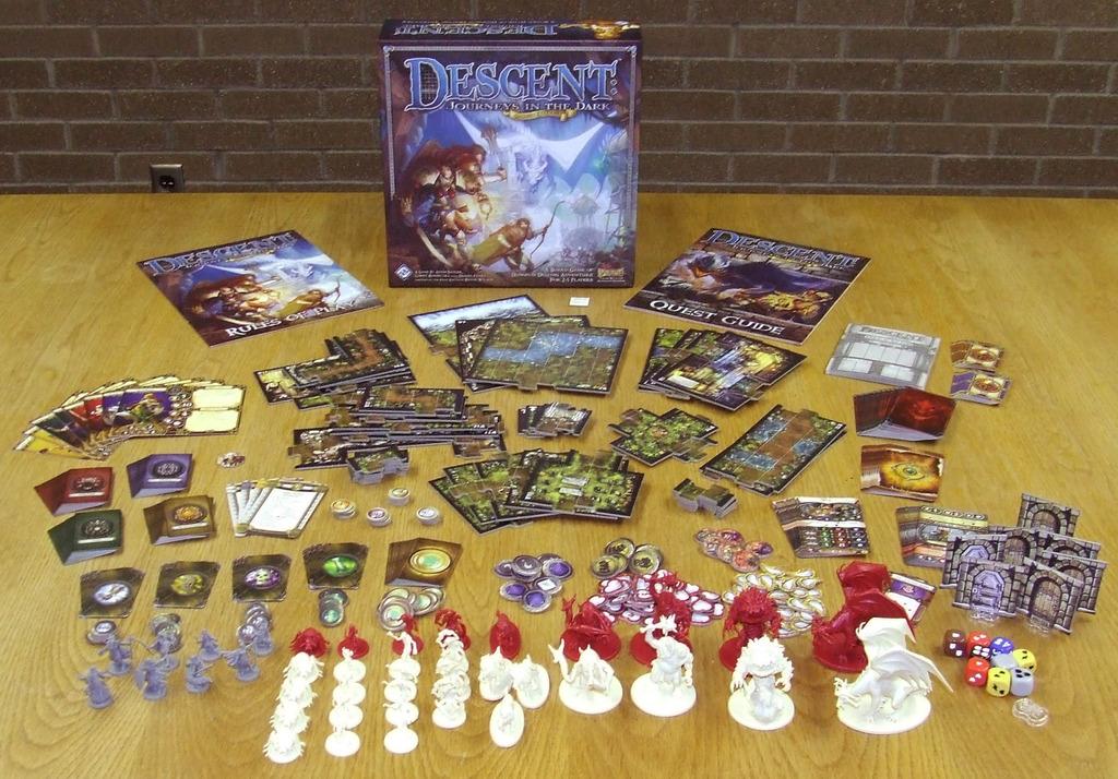 Recensione descent viaggi nelle tenebre 2 edizione giochi sul nostro tavolo - Descent gioco da tavolo ...