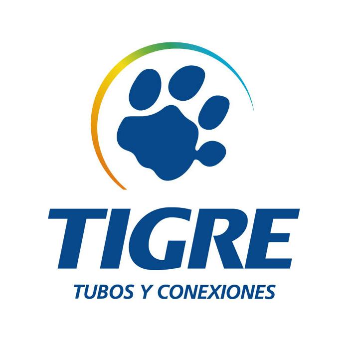Logo TIGRE PERU - Auspiciador III Congreso Internacional de la Industria Plástica, Lima, Perú, abril 2020