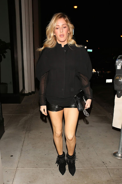 Ellie Goulding Night Out Style – Catch LA in West Hollywood