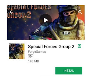Special Forces Group 2 fps
