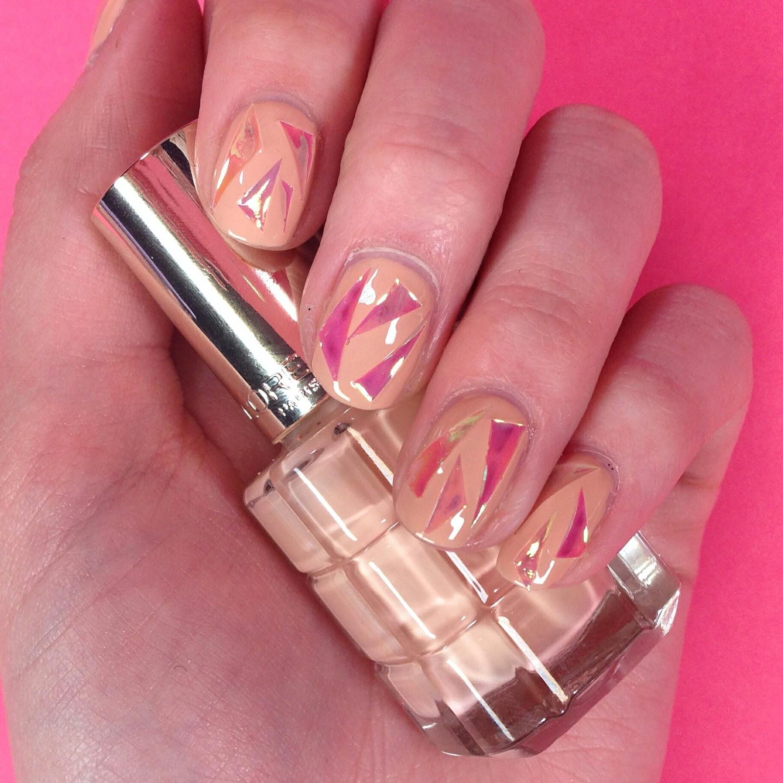 Dahlia nails shattered glass nail art tutorial with icon uk shattered glass nail art tutorial with icon uk prinsesfo Choice Image