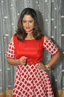Shilpa Chakravarthy looks super cute in Red Frock style Dress 022.JPG