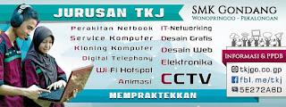 Poster TKJ SMK G Pekalongan, Wonopringgo, Gondang