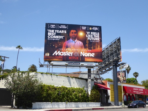 Master of None 2016 Emmy FYC Netflix billboard