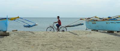 Coastal Biker Puro Pinget Island Magsingal Ilocos Sur Philippines