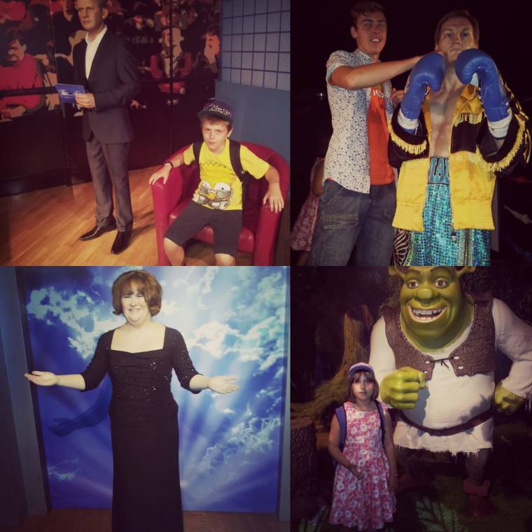 Madam Tussaud's Blackpool