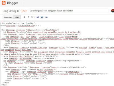 tab HTML