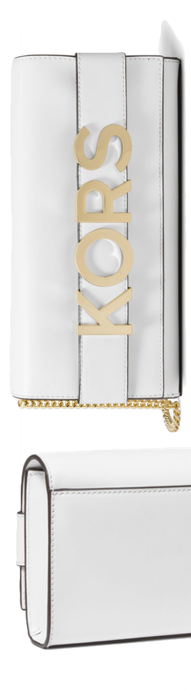 MICHAEL MICHAEL KORS Bellamie Embellished Leather Clutch