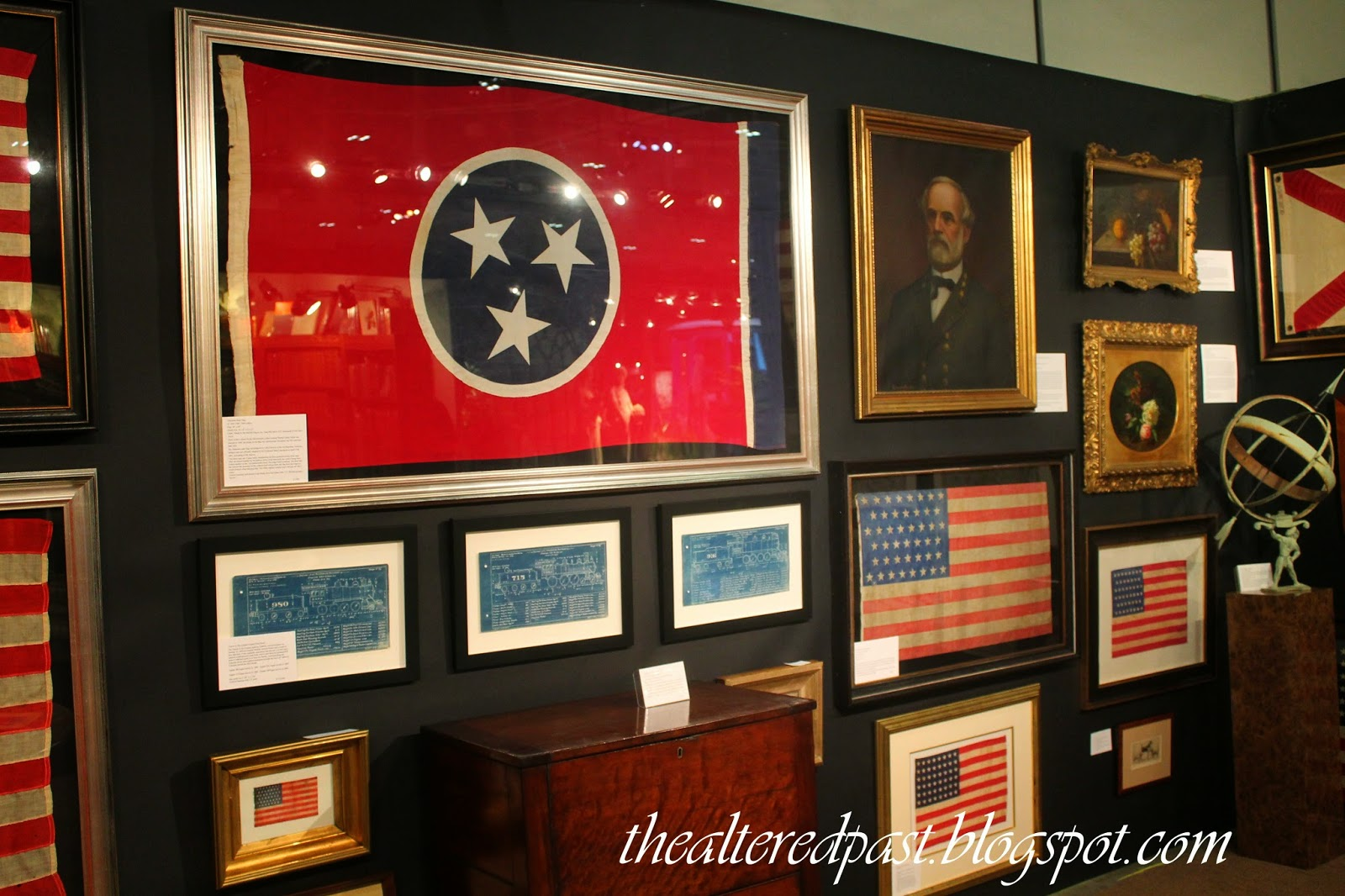 nashville antiques and garden show, the altered past blog