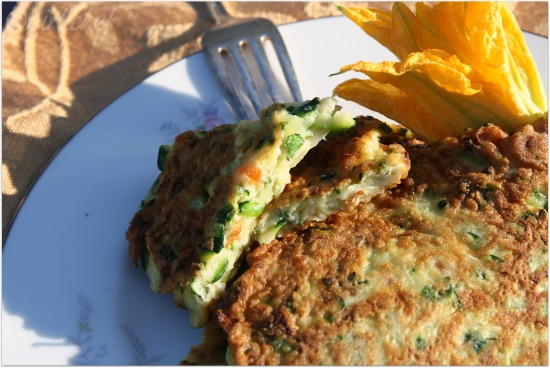 50 Women Game-Changers (in Food): #8 Judith Jones - Zucchini Pancakes