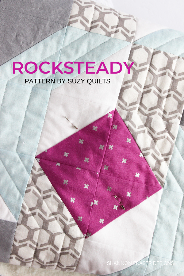 Rocksteady quilt | Q2 2019 Finish-A-Long Proposed Projects | Shannon Fraser Designs