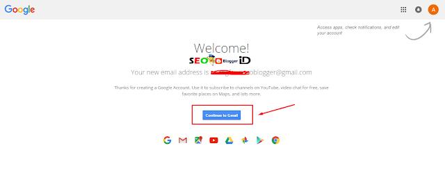 Langkah Ke Tiga Membuat email