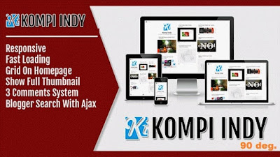 Kompi Indy Blogger Template