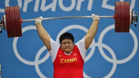 Nahla Ramadan London Olympics August-2012 Weight Lifting ...