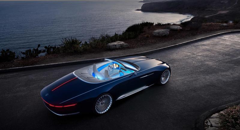 2018 Vision Mercedes-Maybach 6 Cabriolet