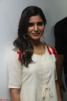 Samantha Ruth Prabhu Smiling Beauty in White Dress Launches VCare Clinic 15 June 2017 010.JPG