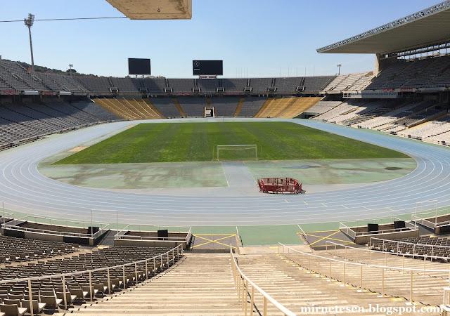 Олимпийский стадион, Барселона