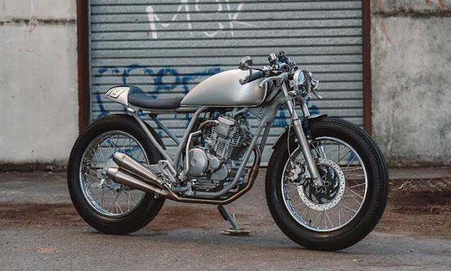 Yamaha Scorpio By Purpose Built Moto Hell Kustom