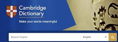 Cambridge Dictionary