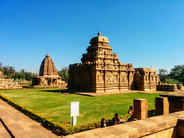 School of temple architecture at Pattadakkal, Karnataka