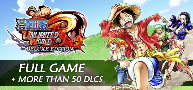 One Piece Unlimited World Red Deluxe Edition PC Full Version