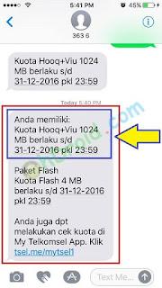 Cara Cek Kuota HOOQ Telkomsel simPATI